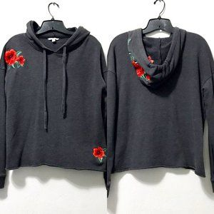 American Eagle Floral Embroidered Hoodie
